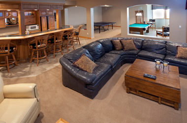 When Finishing Your Basement Floor, There Are Four Common Ways To Put Down  The Carpeting: